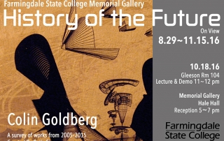 Colin Goldberg - History of the Future - Farmingdale State College