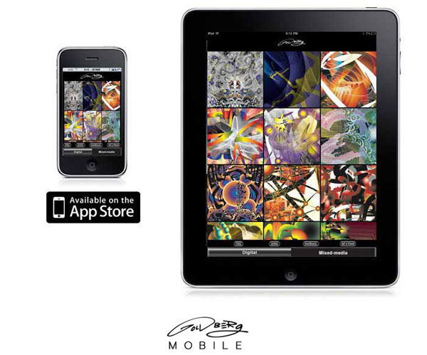 Goldberg Mobile - Abstract Retina Wallpapers