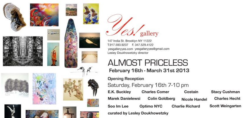 Almost Priceless - Yes Gallery NYC