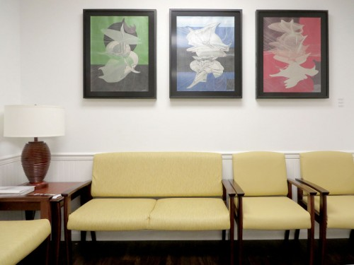 Colin Goldberg presented by Pamela Willoughby - East Hampton Family Care : Installation View