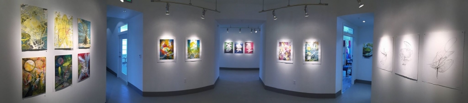Techspressionism: Works on Paper - Solo exhibition at The Studios of Key West