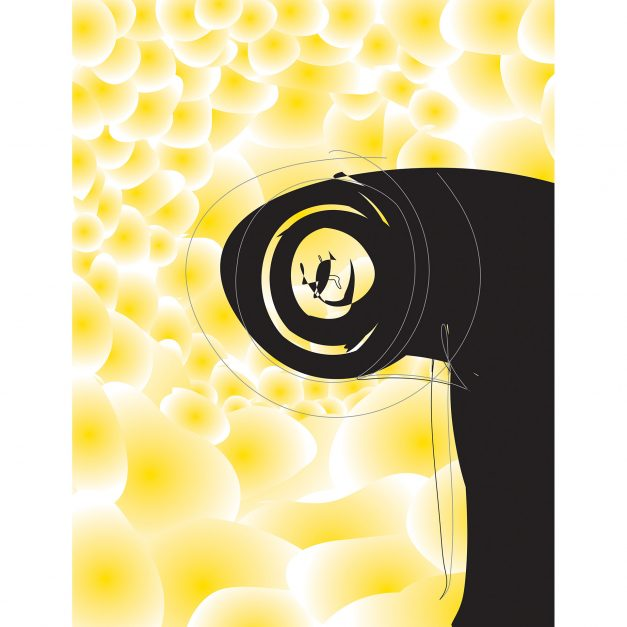 Colin Goldberg Antimatter Abstract Art Print